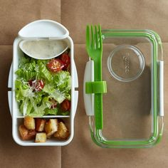 Bento Lunch Box / The Bento Box from Black + Blum is the successor to the original and famous bon appétit lunch box.  http://thegadgetflow.com/portfolio/bento-lunch-box/