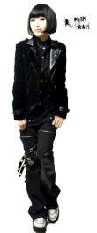 Punk Rave Black Velvet Gothic Jacket - Black Visual Kei Jacket