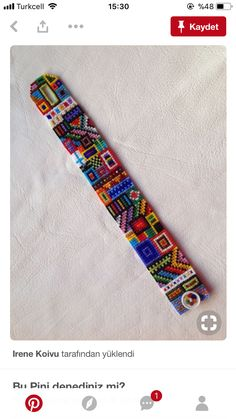 Crazelet, as I call my loomed seed-bead bracelets which remind me of crazy quilts. Each is OOAK, since I invent the designs as I go. Loom Bracelet Patterns, Seed Bead Patterns, Bead Loom Bracelets, Beading Patterns, Beading Ideas, Jewelry Patterns, Seed Bead Jewelry, Seed Beads, Beading Supplies