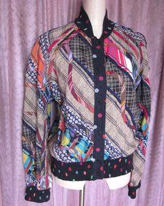 Koos van den Akker collage jacket @Ogovintage