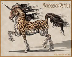A blast from the past, so to speak, I haven't done a big cat coated unicorn in several years. Photoshop (mostly) and Poser