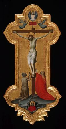 Lorenzo Monaco, The Crucifixion, 1390–1395, Tempera on panel, Art Institute of Chicago