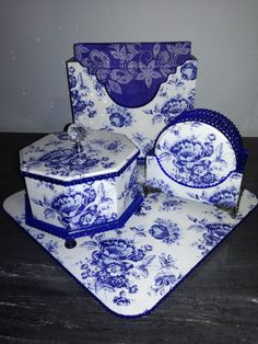 Decoupage, Decorative Boxes, Plates, Tableware, Home Decor, Licence Plates, Dishes, Dinnerware, Decoration Home