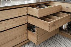 Frederiksberg - Snedkeriet KBH Diy Cnc, Storage Chest, Kitchen Design, Minimalist, Cabinet, Architecture, Interior, House, Dream Kitchens