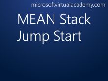 Want to build scalable web apps quickly and easily? Check out the MEAN stack, a collection of technologies (MongoDB, Express, AngularJS, and Node.js) that fit well together to provide a solution that