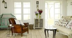 Pretty French doors