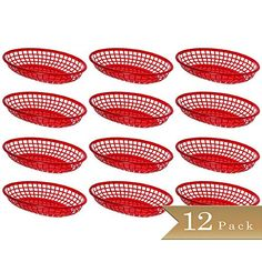 "Pack of 12 - TrueCraftware Red Fast Food Baskets - 9 1/4""... https://www.amazon.com/dp/B01AMIUOEG/ref=cm_sw_r_pi_dp_x_woMMybS7D20GD"