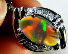 INCREDIBLE  OPAL COLLECTOR S PENDANT   MY296 opal jewellery australian opal