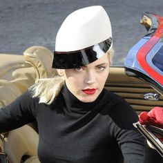 "Karen Henriksen ""Girl Racer"" Couture Collection Morgan."