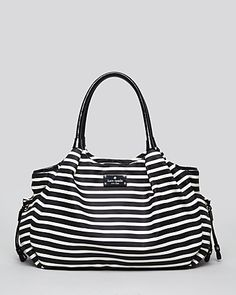 kate spade new york Baby Bag - Nylon Stripe Stevie | Bloomingdale's