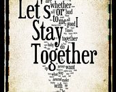 let's stay together-al green