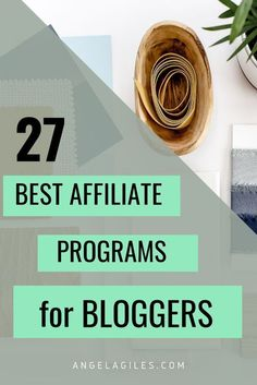 Here is the amazing list to best affiliate marketing programs to join in 2020 to earn money easily and fast! #affiliatemarketing #blogger #blogging #money #earnmoney #trending #viral