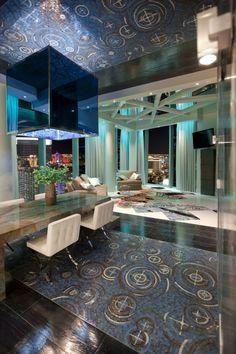las vegas veer city center penthouse by mark tracy. #Las Vegas