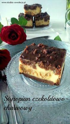 SŁODKIE REWOLUCJE: Styropian czekoladowo-chałwowy (sernik bez sera)