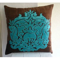 Designer Brown Pillow Cases, Contemporary Floral Pillowca... https://www.amazon.com/dp/B004NPVM9G/ref=cm_sw_r_pi_dp_x_1oQryb2785RJ7