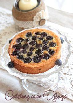Recette tarte myrtilles crème d'amande