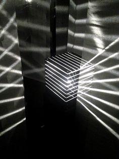 Julio Le Parc art installation, Palais de Tokyo, Paris