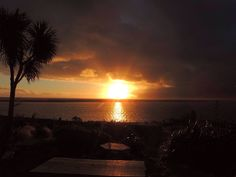 Lake Ferry sunset by Wim