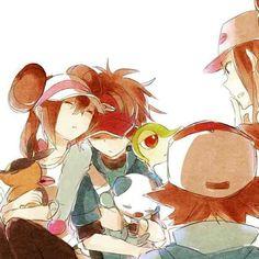 Truth and Ideals. Pokemon Mew, Pokemon Rosa, Sexy Pokemon, Pokemon Manga, Black Pokemon, Pokemon Ships, Pokemon Fan Art, Cool Pokemon, Pokemon Stuff