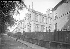 Harris Academy, Old, Dundee Local History, Family History, Old Pictures, Old Photos, Dundee City, Online Scrapbook, Old City, Historical Photos, Great Britain