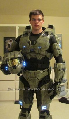 16c313f0b526 My Costume From Dream to Reality  I am Master Chief! Halo Master Chief