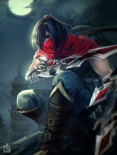 Talon by LengYou on DeviantArt Lol League Of Legends, League Of Assassins, Starcraft, Konosuba Wallpaper, Fan Art, Ghost In The Shell, Mobile Legends, Picture Tag, Archetypes