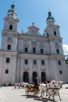 https://flic.kr/p/GTP9Du | Salzburg Cathedral (Dom), Austria | Salzburg Cathedral (Dom), Austria.