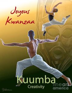 Today,New Year's Eve, is the sixth day of Kwanzaa. Kuumba which means creativity is our focus today and makes use of our creative energies to build and maintain a strong and vibrant. | MsE's Intellectual Smorgasbord