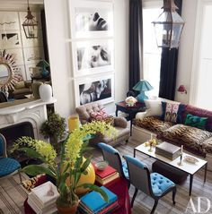 Eclectic, Glamorous Interiors by Bilhuber and Associates Photos | Architectural Digest