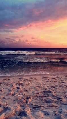 Beautiful Beach Sunset  #Photoraphy #Seascape #Sunset