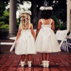 flower girl | Michelle Ellis #photography  bride