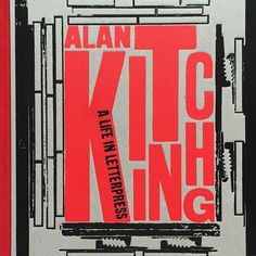 Can't buy it in the states so I had it shipped from London. Worth it. #typography #letterpress #graphicdesign #printmaking #alankitching @laurencekingpub by davidwolske