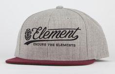 ELEMENT All Star Mens Snapback Hat 202816130   Snapbacks   Tillys.com