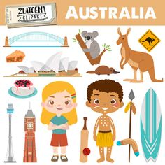 Animal Activities, Classroom Activities, Toddler Activities, Cultures Du Monde, Travel Clipart, English Projects, Countries And Flags, Diy Crafts Hacks, Australian Animals