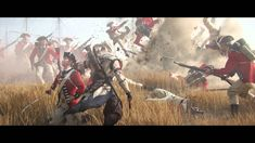 """""""Assassin's Creed III"""" is a 2012 action-adventure video game developed by Ubisoft Montreal and published by Ubisoft. The plot is set in a fictional history of real world events and follows the centuries-old struggle between the Assassins, who fight for peace with free will, and the Templars, who desire peace through control."""