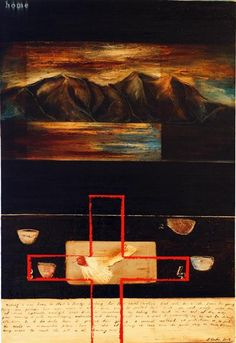 Art Public auctions: Early American Art – Buy Abstract Art Right Early American, American Art, Composition Art, New Zealand Art, Nz Art, Maori Art, Kiwiana, Buy Art Online, Landscape Paintings