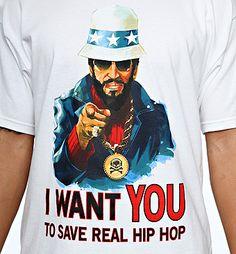 Save Real Hip Hop Shirt.    www.sicktongue.com