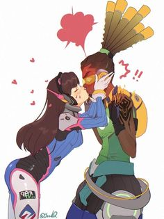 Image result for lucio and dva