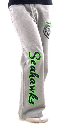 Hey, I found this really awesome Etsy listing at https://www.etsy.com/listing/202582344/seahawks-lady-sweatpants