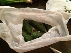 Easy Polish-style salted cucumbers recipe