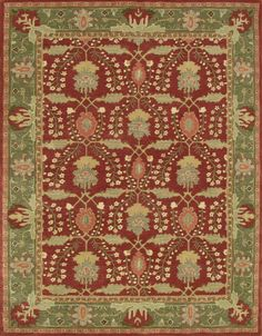 New Frankli Red Traditional Persian Pottery Barn Style 8x10 Wool Area Rug # PotteryBarn #TraditionalPersianOriental