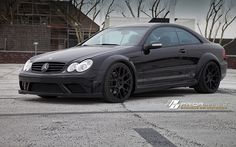PRIOR-DESIGN PD Black Edition Widebody Aerodynamic-Kit for Mercedes CLK
