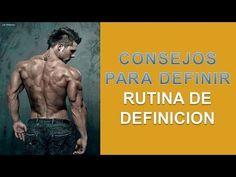 Definir Musculos - http://ganarmusculoss.blogspot.com  Consigue un cuerpo con musculos marcados con estos consejos sobre la dieta y rutina de definicion. Durante los tres primeros días de la semana, come seis veces al día para acelerar el metabolismo. Limita el contenido de carbohidratos a dos comidas: desayuno y después del entrenamiento para definir musculos.