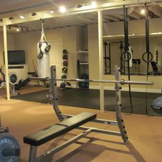 Unfinished Ceiling Design Ideas, Pictures, Remodel, And Decor   Page 5. Home  Gym ...