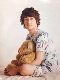 yaotome & teddy bear