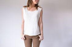 Le tee-shirt Madrague de Aime comme Marie est ultra simple à réaliser. Ce modèle est disponible de la taille L à XL. Le patron est à télécharger puis à imprimer. Le tutoriel est joint en dessous de l'article. A faire et à refaire pour les beaux jours....