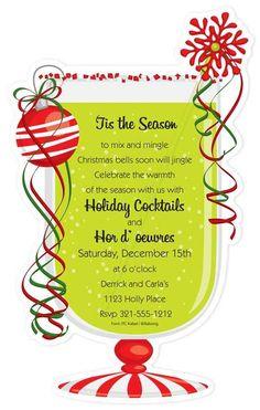 Captivating Christmas Open House Invitation: