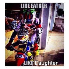 Or mother like daughter 😉