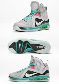 sports shoes 620d6 8e3d7 DS Men s Nike Lebron 9 IX South Beach China Galaxy All Star Taxi Big Bang  Cannon