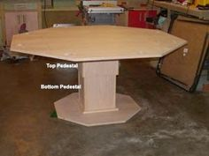 Woodworking Plans Reviewed: How to Build a Poker Table - Step by Step Instructions Poker Table Diy, Poker Table Plans, Woodworking Tool Kit, Woodworking Table Plans, Woodworking Videos, Wood Shop Projects, Home Projects, Outdoor Projects, Octagon Poker Table